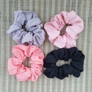 Set of 4 Hair Scrunchies